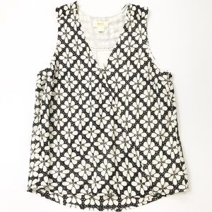 Maeve Anthropologie Top Shirt Sleeveless Size 8